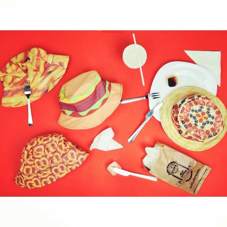 Bon appetit 🍕  junkfood funny hat yummy pizza hamburger pretzel foodporn fastfood szputnyikshop