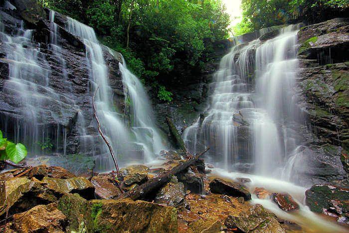 Soco Falls NC - between Maggie Valley and Cherokee