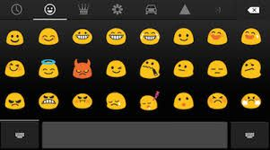 Download New emoji keyboard with new emoji, smileys and emoticons for android users. https://play.google.com/store/apps/details?id=com.emojikeyboard.coloremoji&hl=en