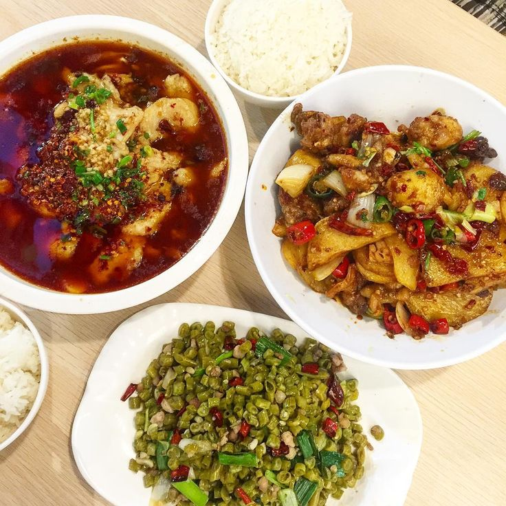 On days you just want to have everything spicy! sichuan