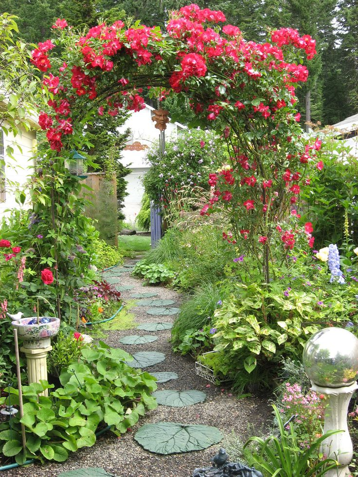 20 best images about rose garden ideas on pinterest for Backyard patio landscaping