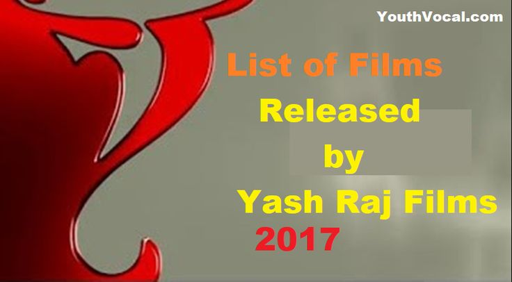 List of films Released by Yash Raj Films 2017-18 Upcoming Movies List