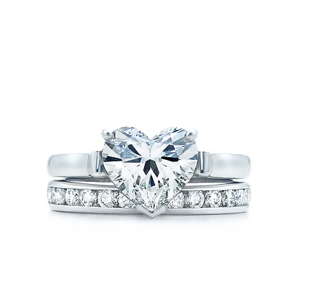 Tiffany & Co Heart Shaped Engagement Ring. A girl can dream.