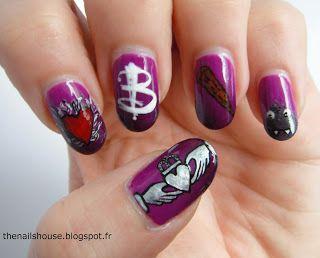 The Nails House: Buffy contre les vampires (nail art)