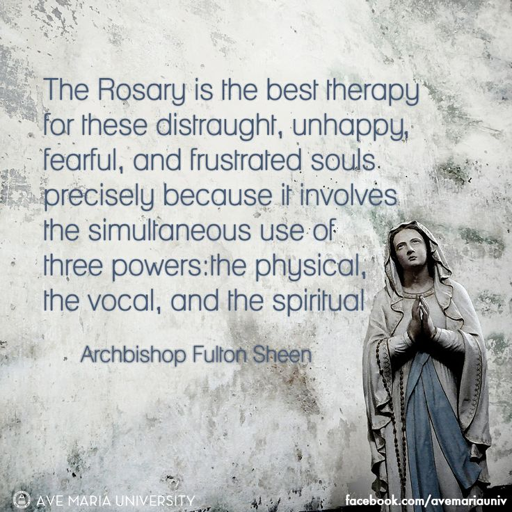Archbishop Fulton Sheen #quote on the #Rosary http://www.renewamerica.com/columns/kralis/040918
