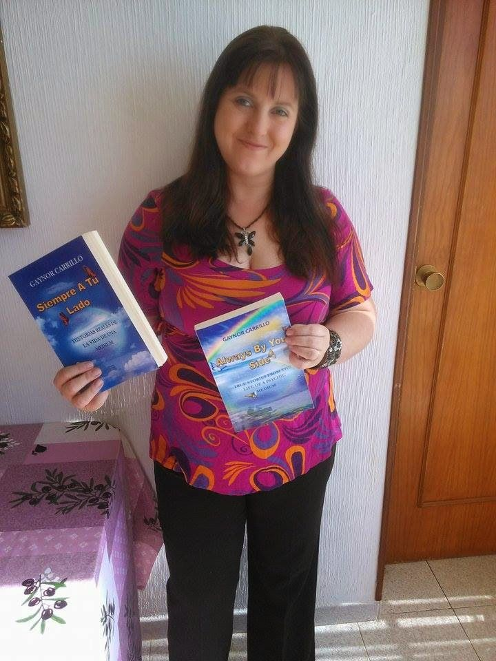Gaynor Carrillo blog: Me, my book and I