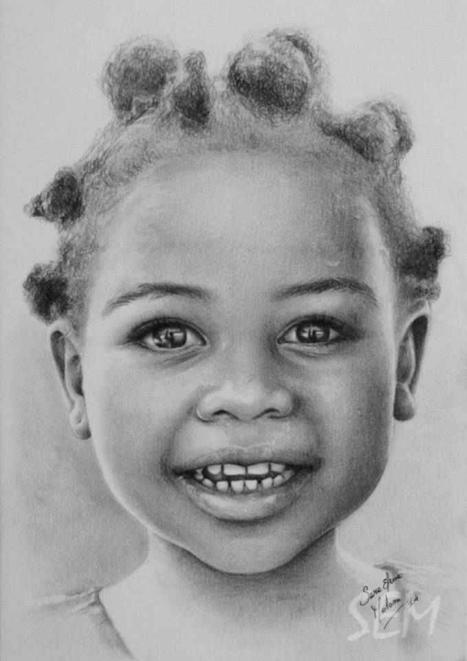 It is a picture of Adaptable Drawing African American Faces