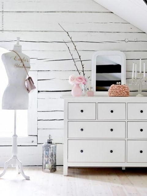インテリアドリーム| ホワイトフェミニン更衣室 - ハート手作り英国