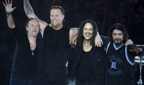Metallica new album in 2016! So, so heavy.......