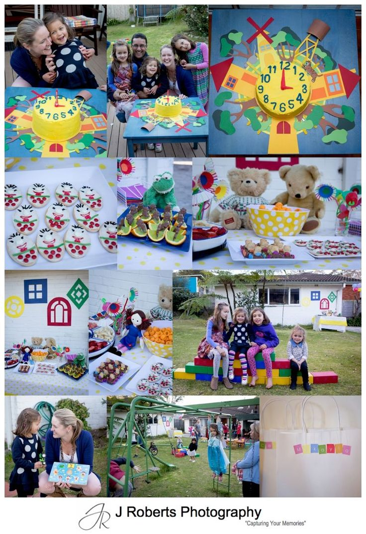 Playschool Party Theming for a 3rd Birthday Party