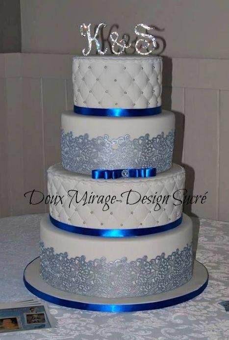 idées à propos de Gâteaux De Mariage Blancs sur Pinterest  Mariage ...