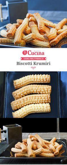I #biscotti #Krumiri sono friabili, delicati ma davvero inconfondibili.