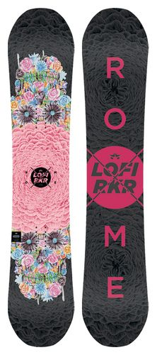 Rome Lo-Fi Rocker Snowboard   Rome Snowboard Design Syndicate 2016