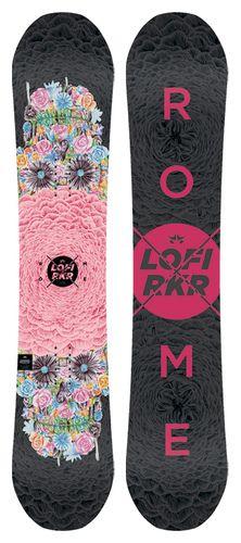 Rome Lo-Fi Rocker Snowboard | Rome Snowboard Design Syndicate 2016