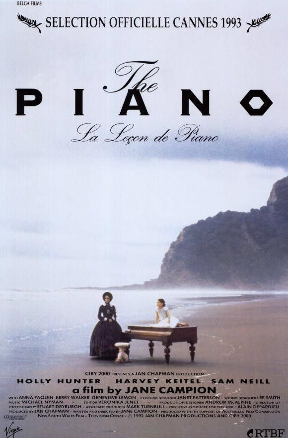 The Piano 11x17 Movie Poster 1993 With Images Internet