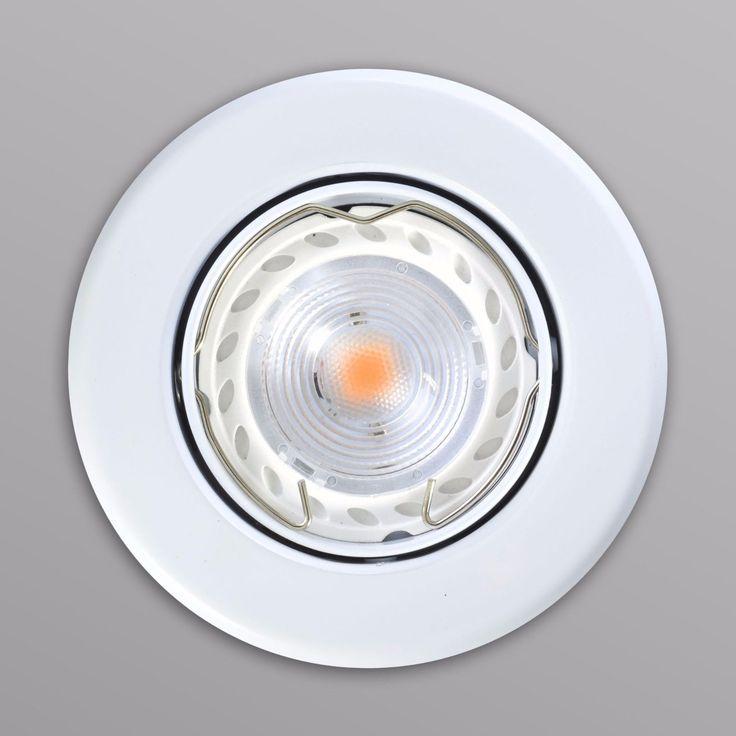 Einbaustrahler Einbauleuchte Einbauspot Spot 7W Lampe Leuchte B002 Einbaurahmen in Heimwerker, Lampen & Licht, Einbauleuchten | eBay!