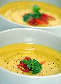 INA PAARMAN'S Roasted Butternut Soup with Fresh Coriander