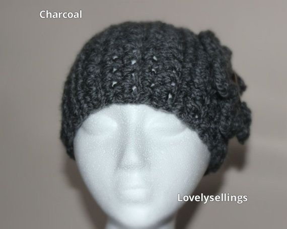 Chunky Headwarmer with Flower by LovelySellings on Etsy