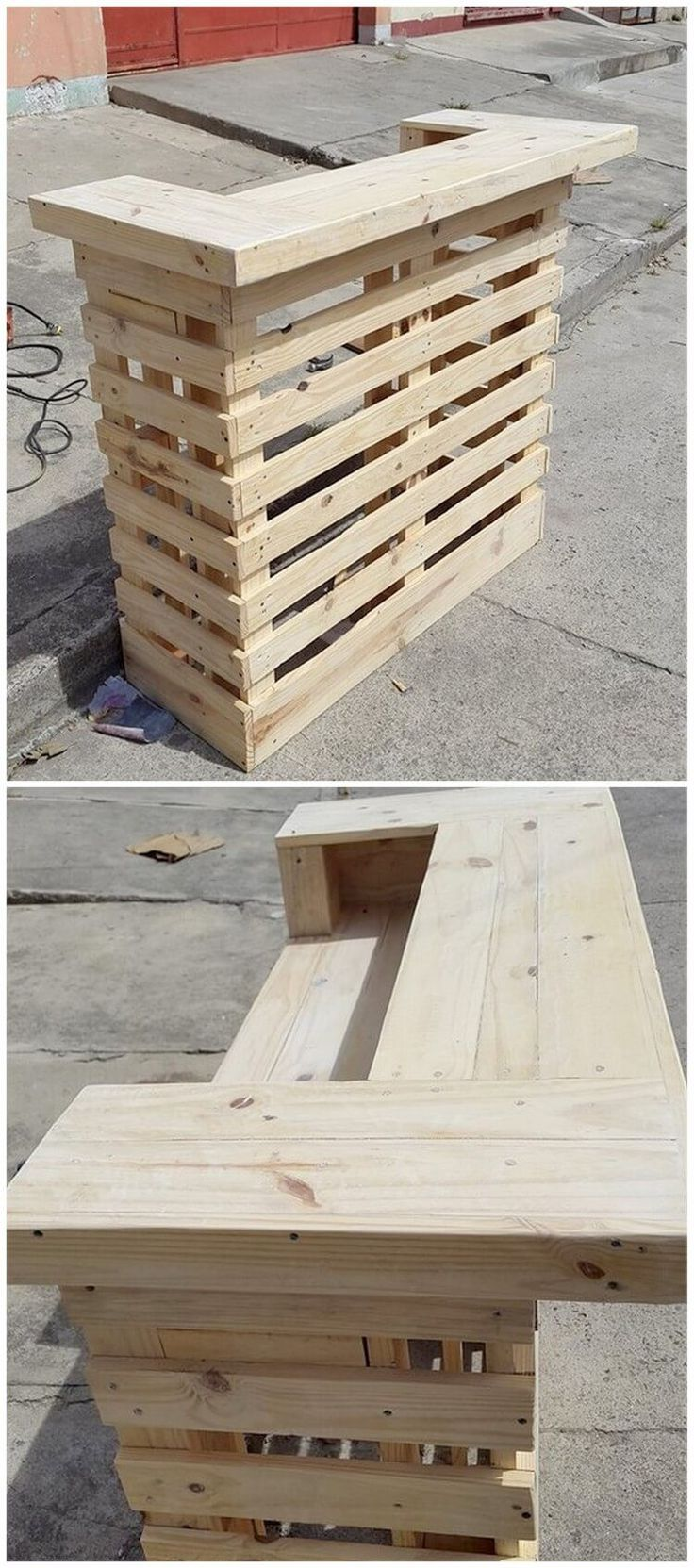 Cheap ideas to upcycle old wooden pallets wood pallet for Old wood pallets ideas