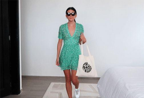 Realisation Par Ozzie dress in Poison Ivy outfit