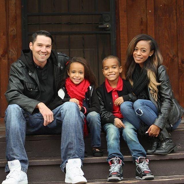 Gorgeous interracial family photography #love #wmbw #bwwm #swirl