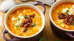 Cuando estoy muy ocupada, lo que más añoro es una sopa sencilla con mucho sa-bor. Hoy les comparto una receta a base de maíz dulce muy fácil de preparar. Se tra-ta de una sopa que tiene la combinación perfecta de sabores y texturas: es dulce, pi-cante, cremosa y salada; ¡puedes saborear todo en una sola cucharada! Y lo mejor de todo es que la puedes tener lista en menos de 30 minutos.