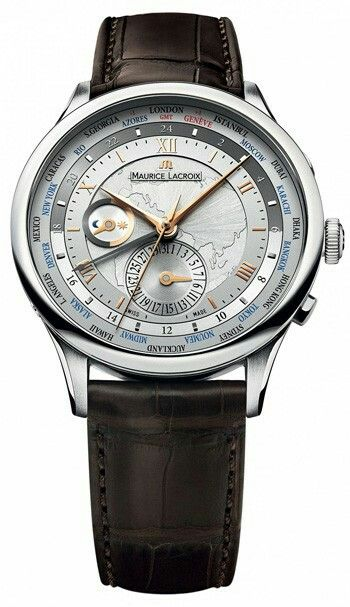 Maurice Lacroix Masterpiece Worldtimer Men s Watch Model  MP6008-SS001-110 fcd2aef03c1