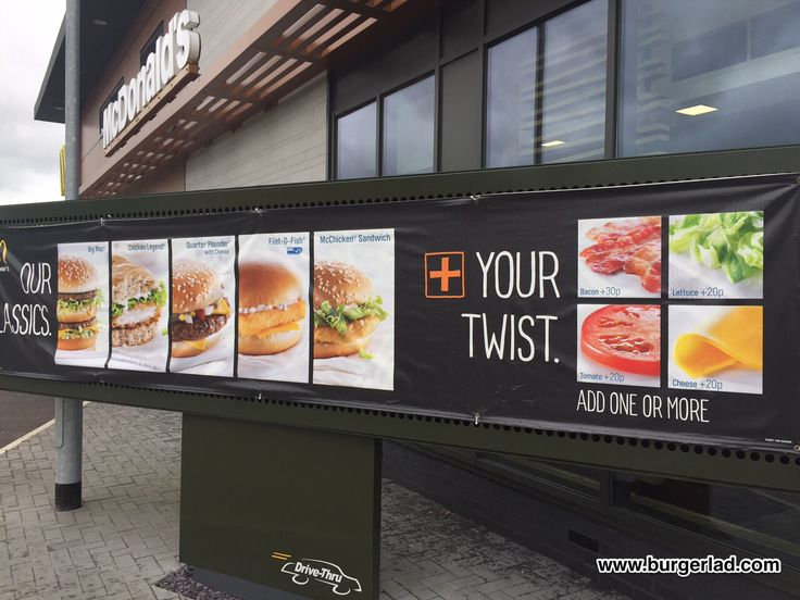 Anyone seen 'Add Your Twist' at your local McDonald's? [UK] #McDonalds #food #fastfood #delicious #eating #happymeal