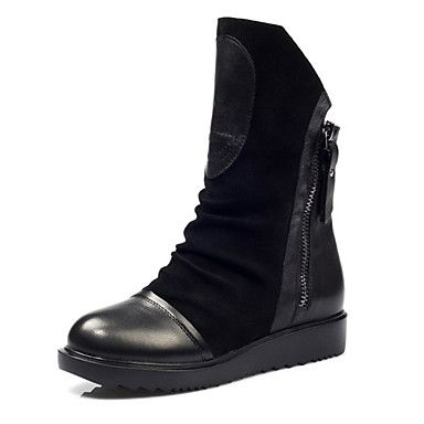 Leather Women's Motorcycle Boots – CAD $ 84.69