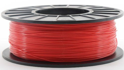 Red 1.75mm 1kg PLA Filament for 3D Printers