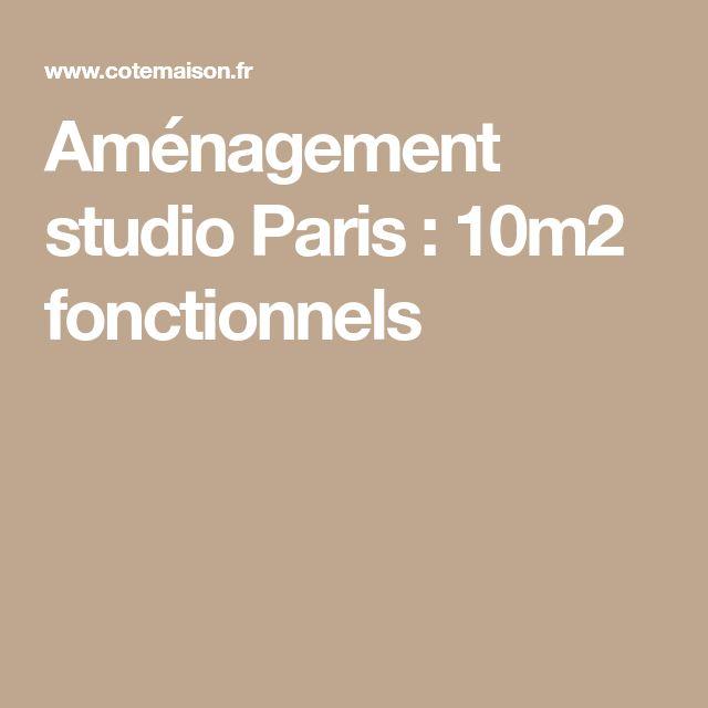 Aménagement studio Paris : 10m2 fonctionnels