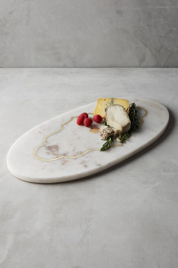 Anthropologie Parquet Cheese Board