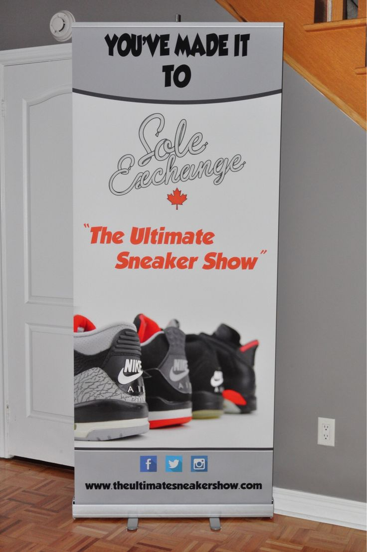 The Ultimate Sneaker Show #RollUpBanner