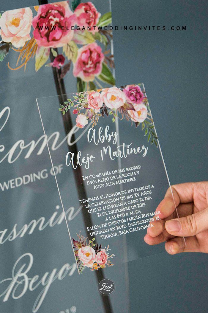 20 Awesome Outdoor Garden Wedding Ideas To Inspire Elegantweddinginvites Com Blog In 2020 Clear Wedding Invitations Acrylic Wedding Invitations Affordable Wedding Invitations