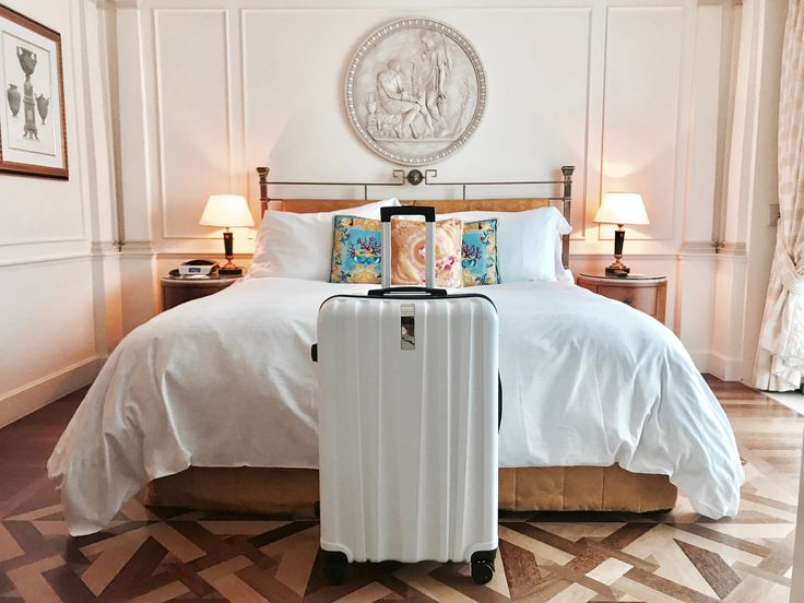 Vacay Everyday! #luggage #hotelstay #vacation #versace