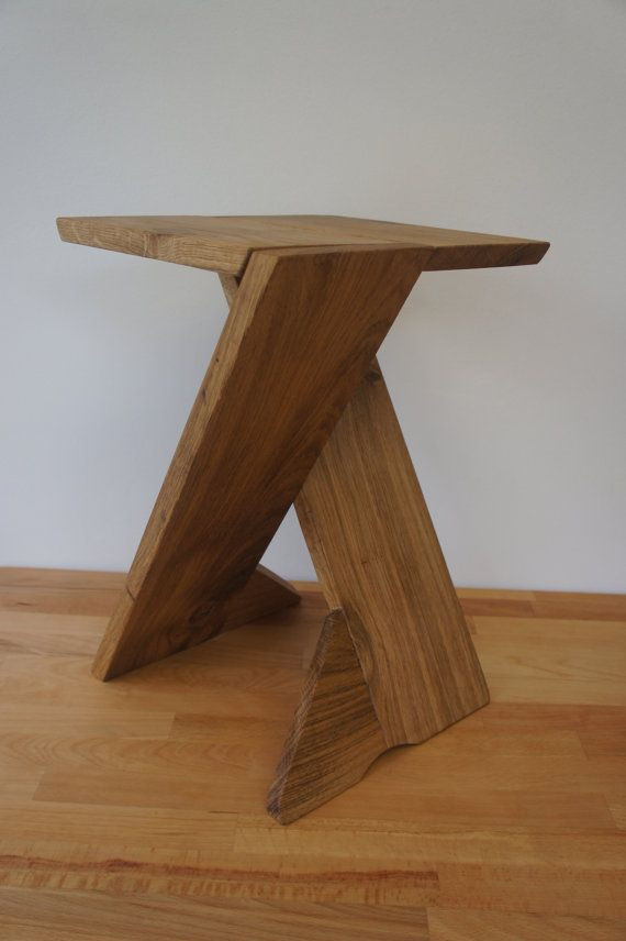 X legs folding Table/ Stool by woodworksdesigns on Etsy, £135.00==$220.00 USD