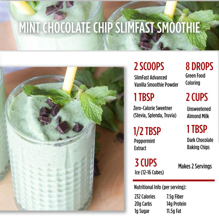 Hey all you mint chocolate chip lovers! Here's a protein packed alternative to your favorite ice cream! #SlimFast #ItsYourThing