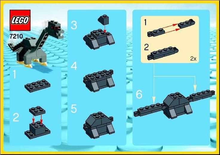 Make and Create - Long Neck Dino [Lego 7210]