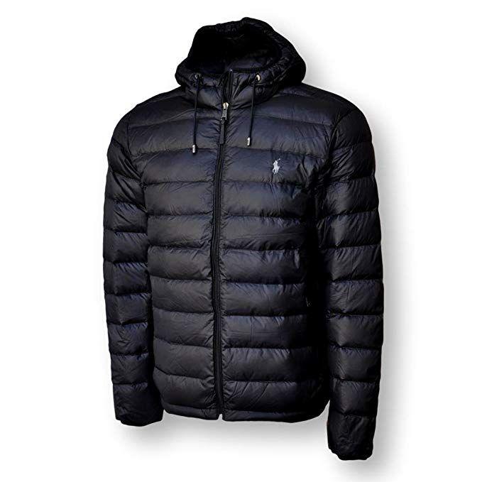 0f893d56 Polo Ralph Lauren Men's Hooded Down Jacket, Packable Review ...