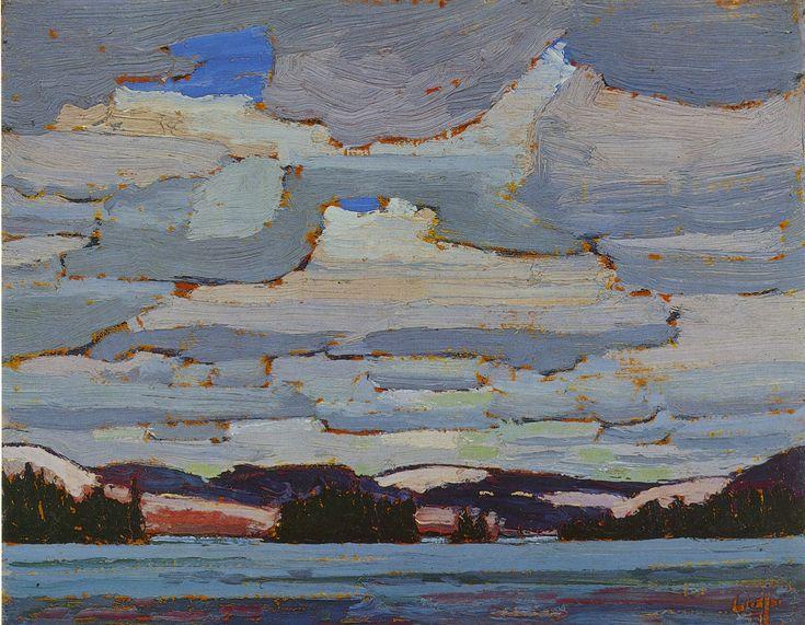 Tom Thomson Catalogue Raisonné | Spring, Canoe Lake, Spring 1916 (1916.61) | Catalogue entry