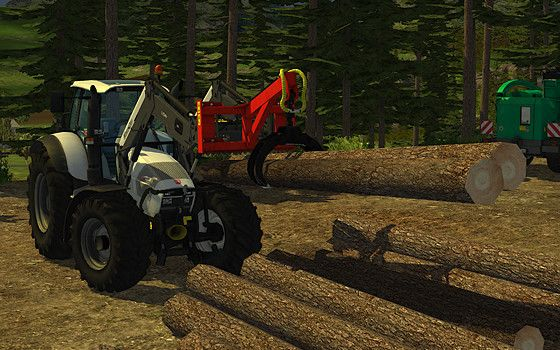 Farming Simulator _ 2013 all about the Forestry - attachments. Tools, Equipment, ect.