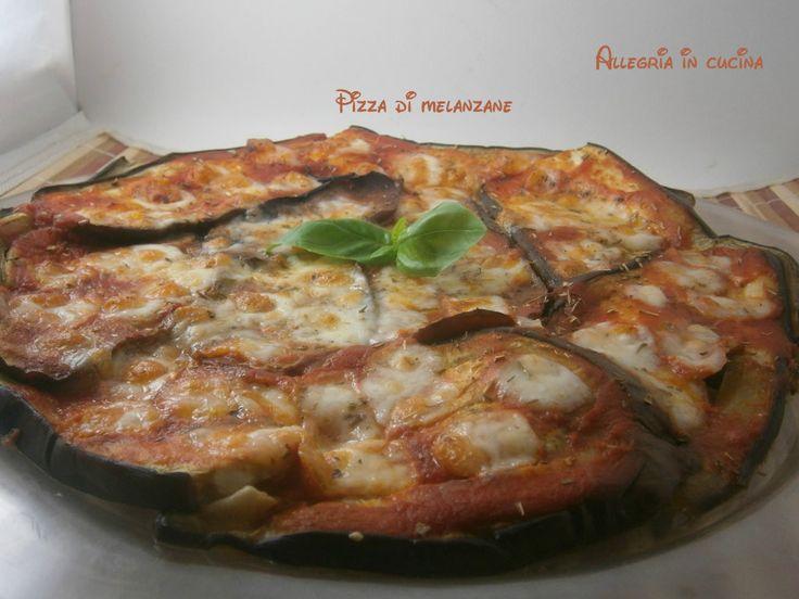 Pizza di melanzane - piatto semplice
