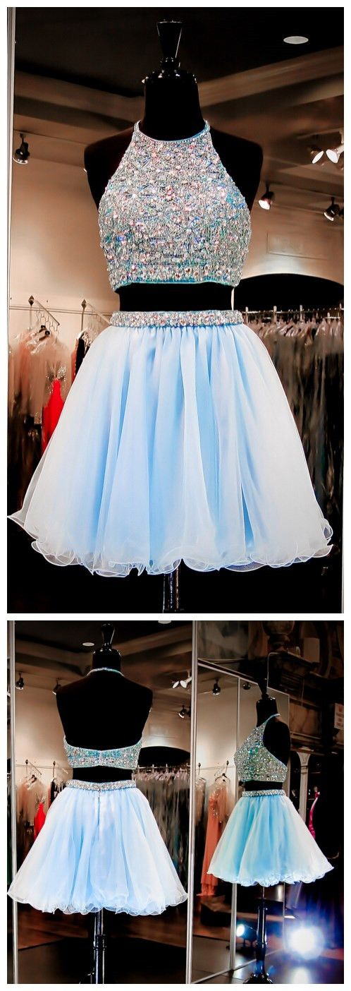 Classy Short Homecoming Dresses,Two Piece Homecoming Dresses,Cheap Graduation