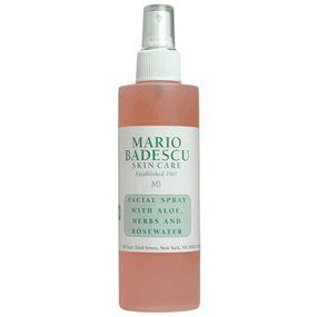 facial spray with aloe, herbs & rosewater  $11.95