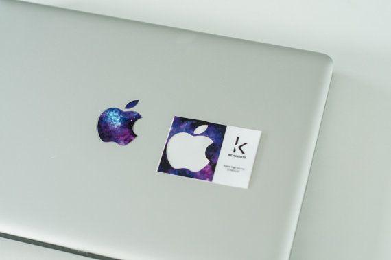 Apple Stardust Logo Apple Logo Sticker Apple Logo by Keyshorts