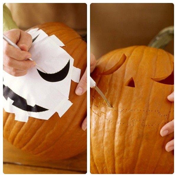 Cómo decorar una calabaza de Halloween