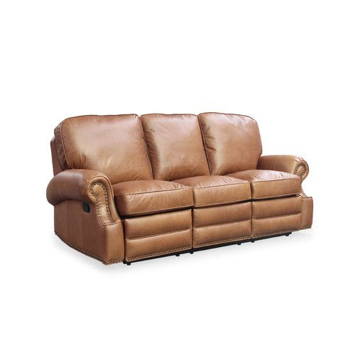 Found It At Wayfair   Longhorn Leather Reclining Sofa