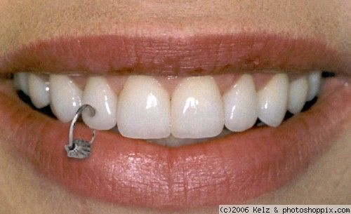 tooth piercing... wtf???