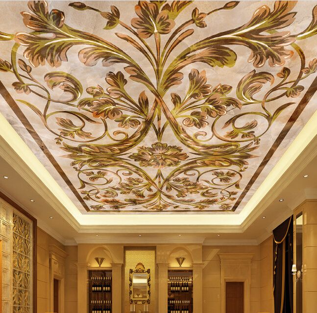 1000 ideas about wallpaper ceiling on pinterest for Ceiling mural wallpaper