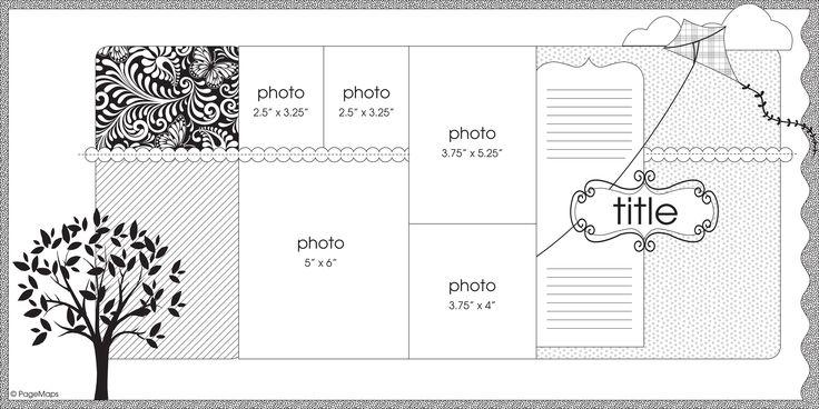 Sketch by Becky Fleck  Pagemaps.comScrapbook Ideas, Scrapbook Cards, Projects 12, Scrapbook Photos, Scrapbook Sketches, Canada Scrapbook, Marching 2011, Scrapbook Layout, Scrap Sketches